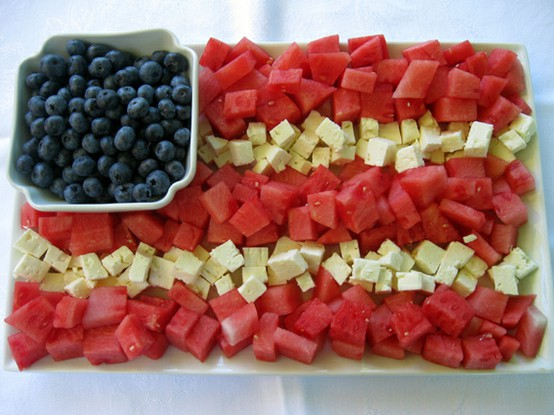 Modern palm boutique happy 4th of july dessert ideas for Fourth of july party dessert ideas
