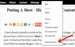 customize template using google chrome
