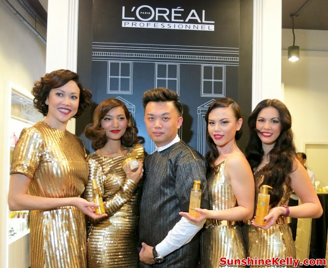 La Maison, The Parisian of House of Hairdressing, L'Oreal Professionnel, Shawn Cutler Salon, Mythic Souffle d'Or, Sparkling Shampoo, Sparkling Conditioner, shawn cutler mobile app