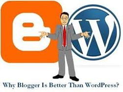 All About Blogging: Reasons Why I Like Blogger Over Wordpress