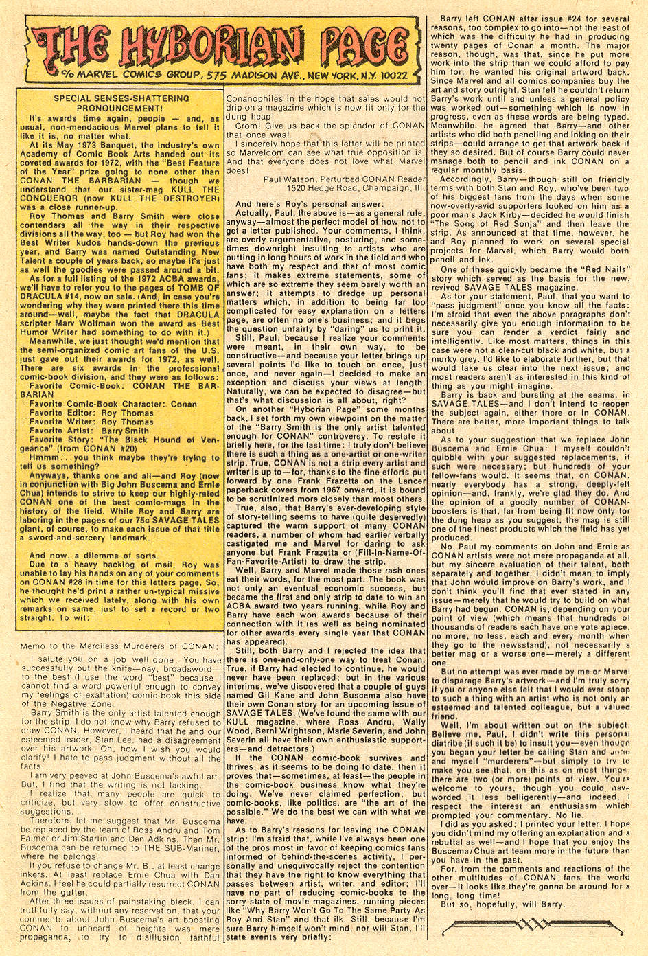 Conan the Barbarian (1970) Issue #32 #44 - English 22