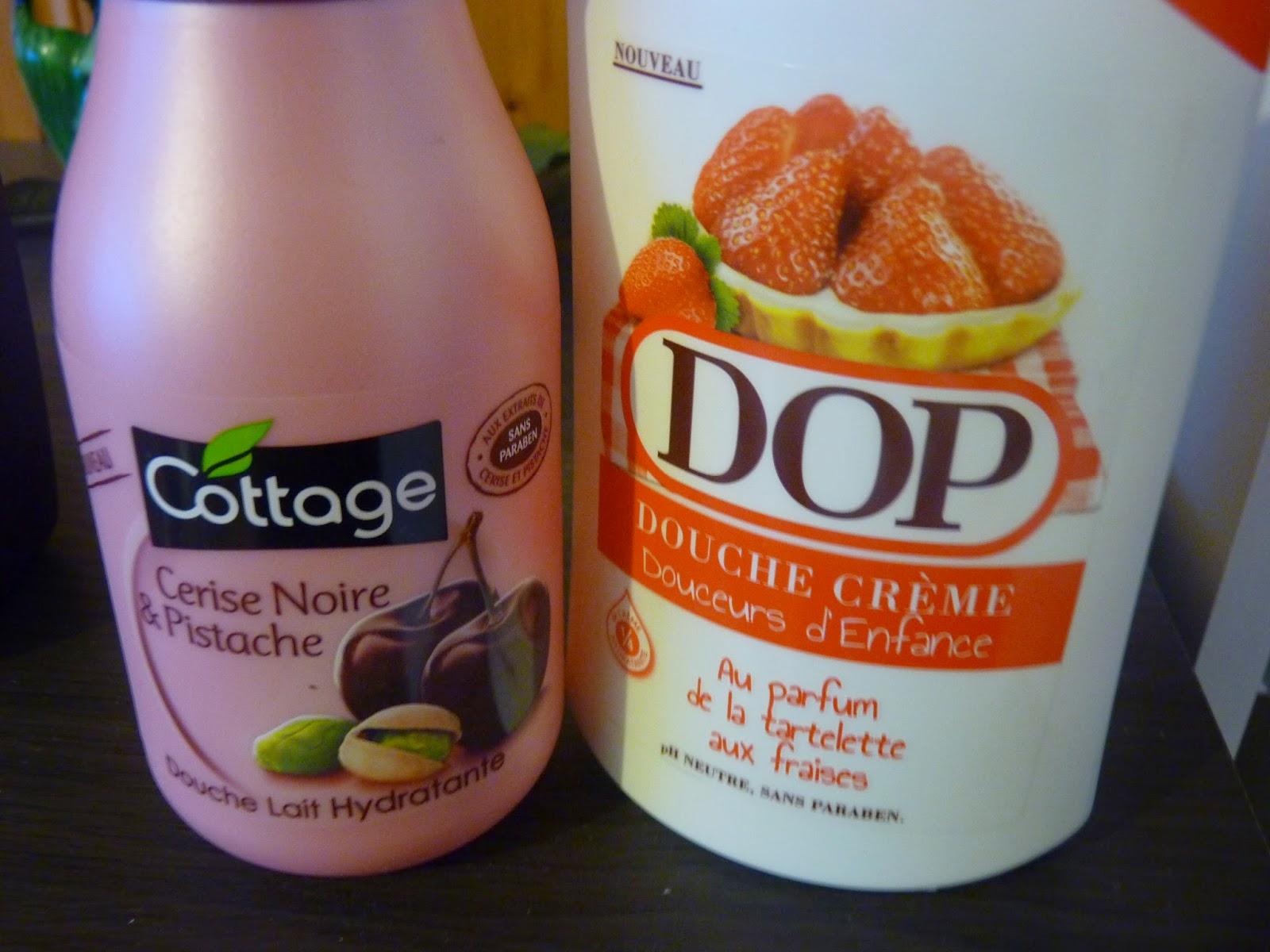 cottage, cerise noire pistache, dop, douche crème, douceur d'enfance, tartelette aux fraises