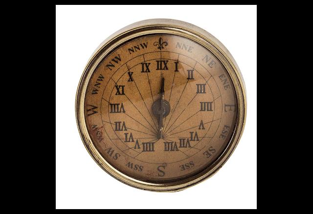 18th C Sundile Compass