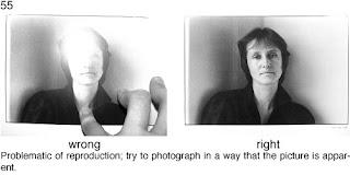 Совет 55.При пересъемке фотографий, следите что бы ваши пальцы и другие предметы не попадали в кадр.