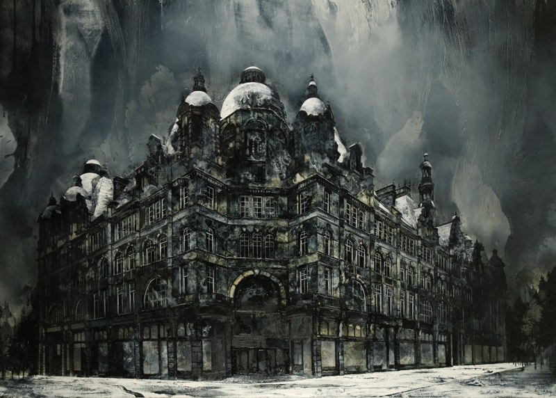 06-From-Nothing-to-Everything-Mark-Thompson-Austere-and-Desolate-Cityscapes-Paintings-www-designstack-co