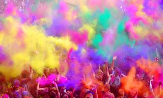Holi: la fiesta primaveral del amor y los colores