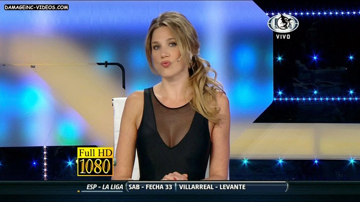 Sexy journalist cleavage HD video
