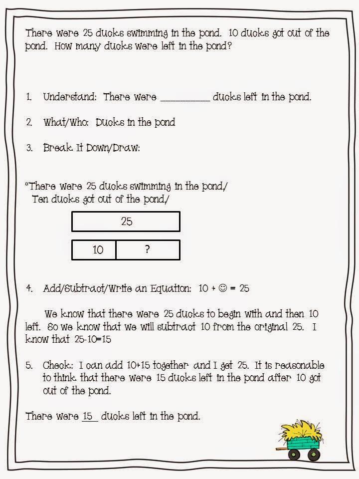Super Second Grade Smarties: 2.OA.1- Math Word Problems