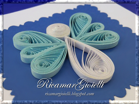 Angelo in quilling