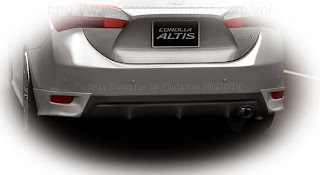 than xe Corolla Altis 1.8G CVT 2014