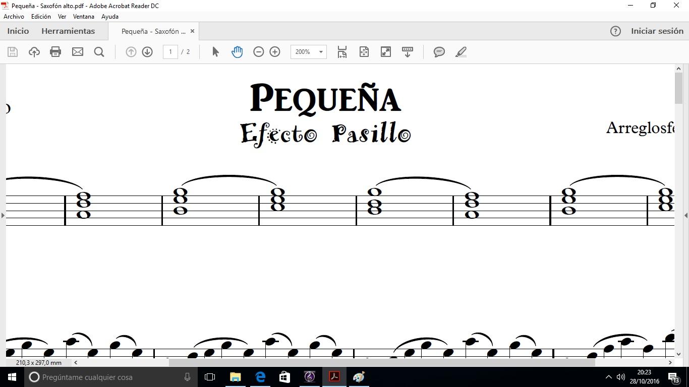 Pequeña (Efecto Pasillo&Juan Magan)