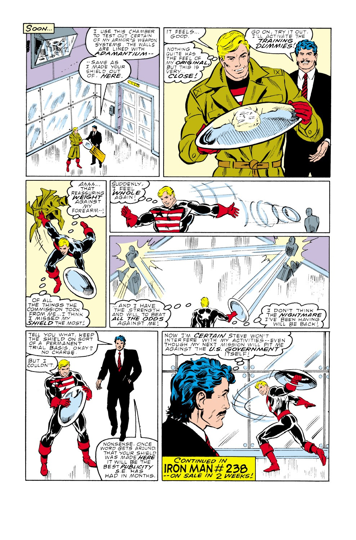 Captain America (1968) Issue #339 #268 - English 22