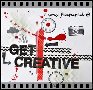 I was featured at Get Creative !!!