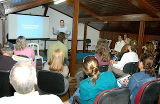 O encontro teve como pauta a apresentação das ações e projetos que visam fomentar o turismo em Teresópolis