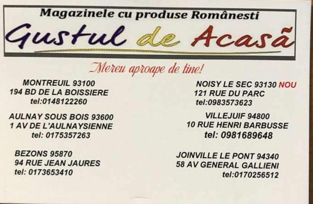 Pour des produits roumains de qualité!