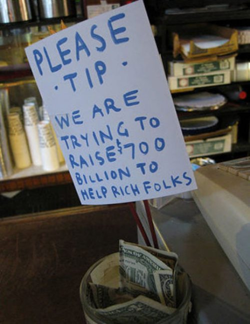 Tip jar quotes quotesgram for Funny tip of the day quotes