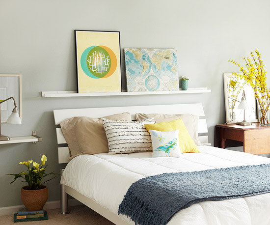 Lisa Mende Design What Do You Have Over Your Bed