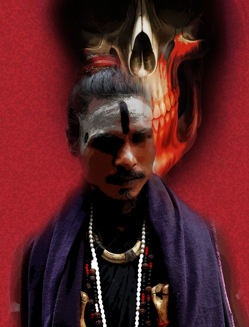 the aghori Hindu aghoris live near cremation sites in india and meditate on death and its  implications this form of religious devotion is explored through.