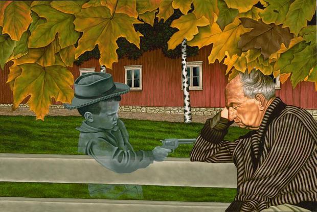 Surrealismo Vintage en las Pinturas de © Pat Rocha