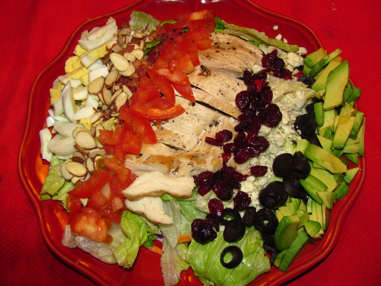 For the Love of Food: Chicken Cobb Salad