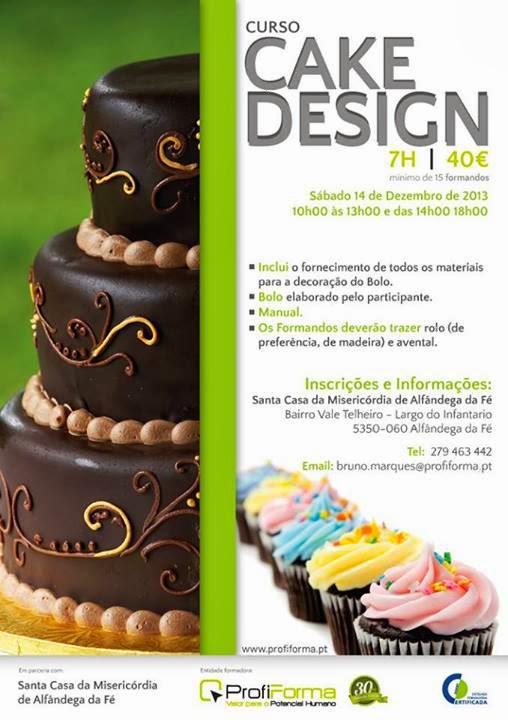 Workshop de Cake Design em Alfândega da Fé