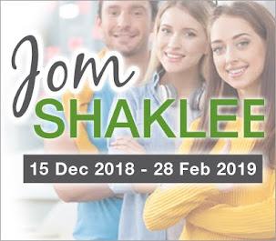 Promo Jom Shaklee