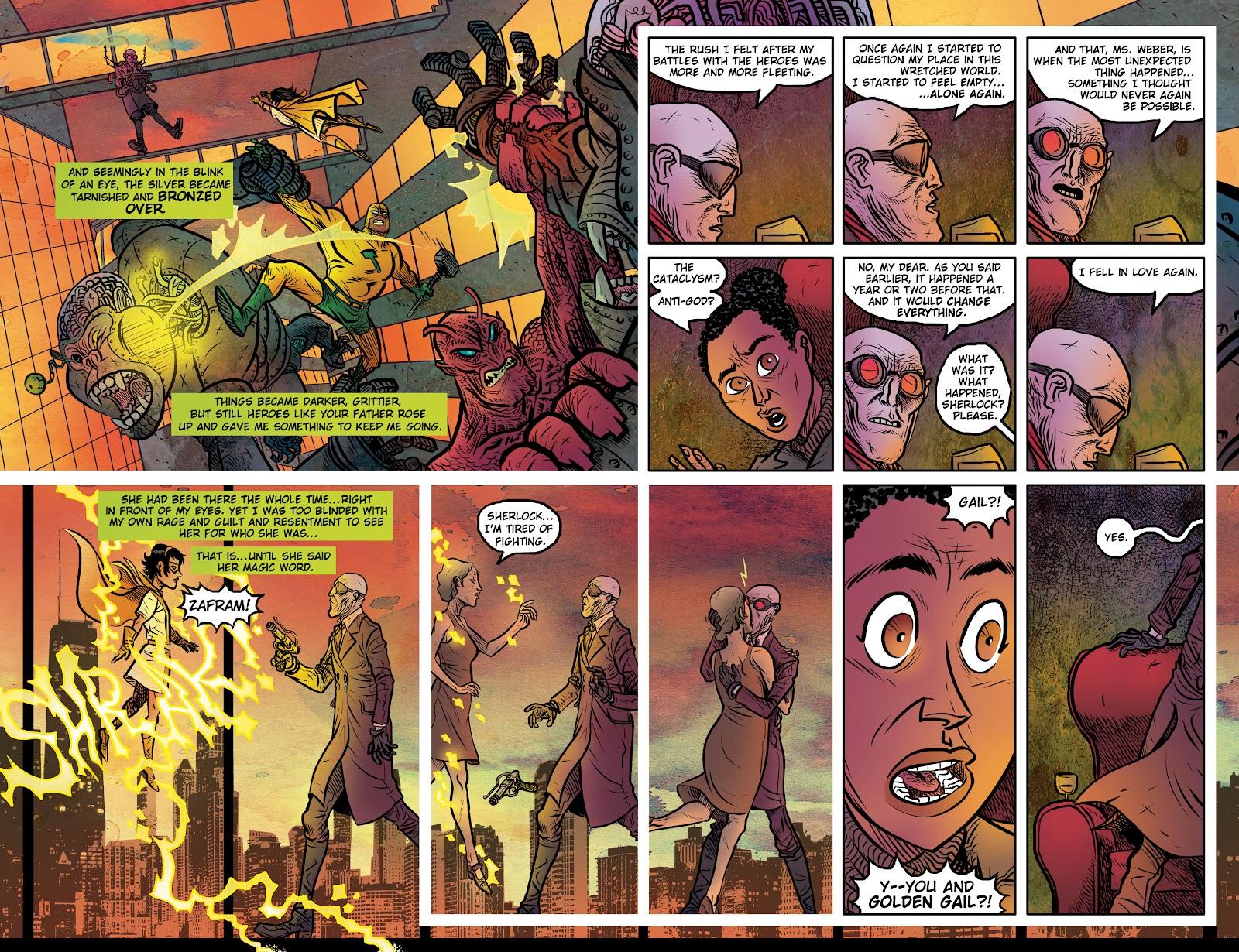 Read online Sherlock Frankenstein and the Legion of Evil comic -  Issue #4 - 11