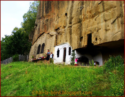 detaliu manastirea corbii de piatra
