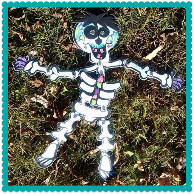 Skeleton Craft Kit Day of the Dead.