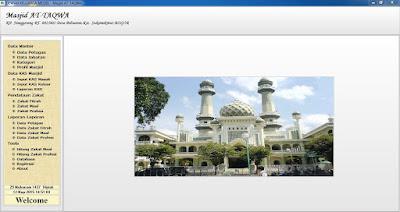 Aplikasi keuangan masjid