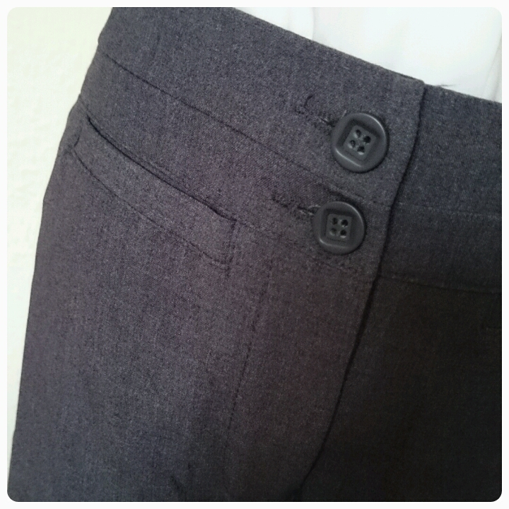 trutex junior trousers pocket detail