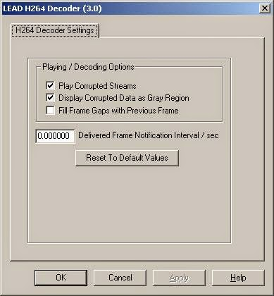 تحميل برنامج ضغط الفيديو وفك ضغط الفيديو LEAD H.264 Video Codec