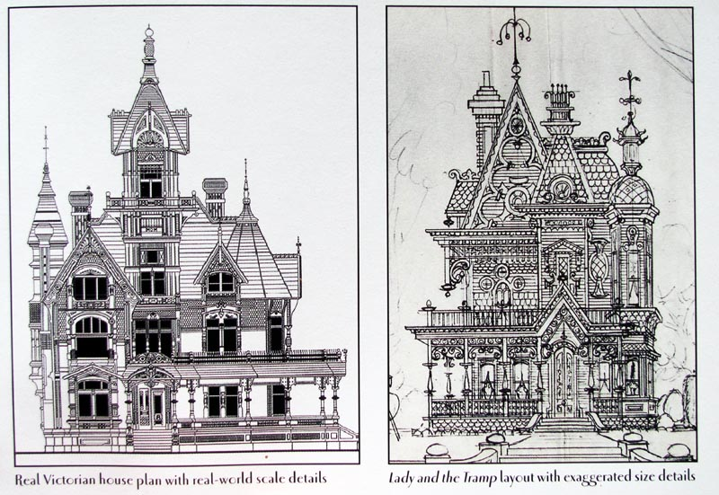 Old Victorian Houses Drawing Real victorian house plan,