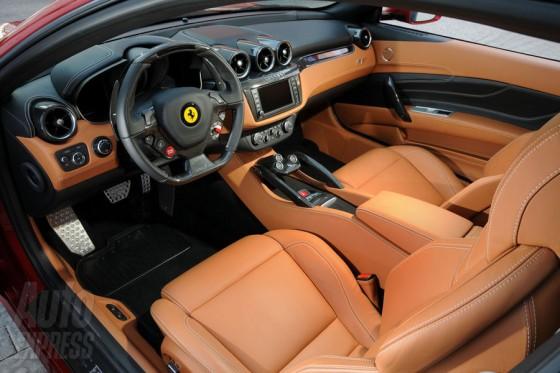 Cars World: Ferrari FF interior