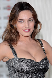 Kelly Brook Ischia Global Fest Photocall, Kelly Brook Metallic Grey Dress