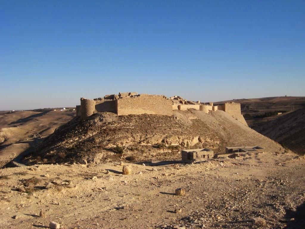 Korsridderborgen Shobak, Jordan
