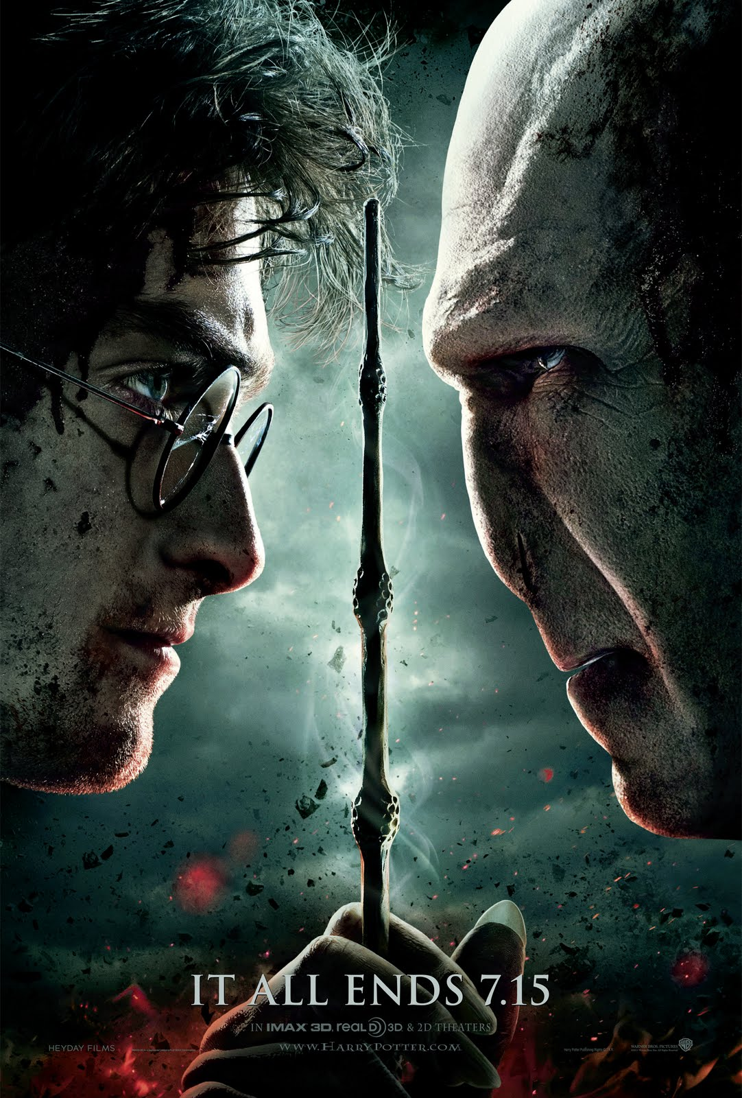 Harry Potter and the Deathly Hallows Part 2 : Poster