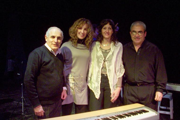 Junto al Dir. de la Banda de Vientos de Cipolletti, Oscar Escobar y el solista Juan Carlos Olatte