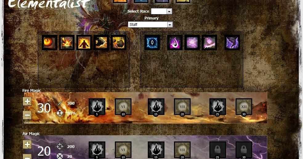 Guild Wars  Elemental Build Pve