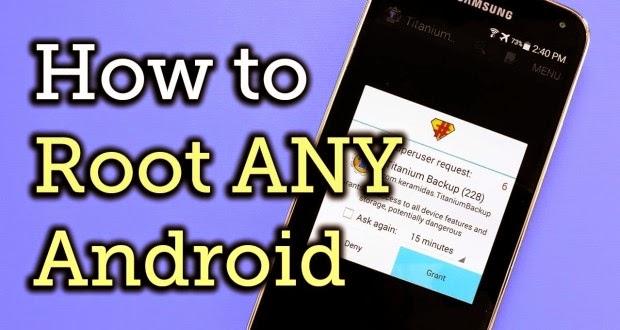 cara root hampir semua jenis android