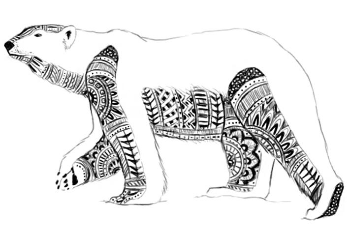 the art of danielle mahaffey ornate animals