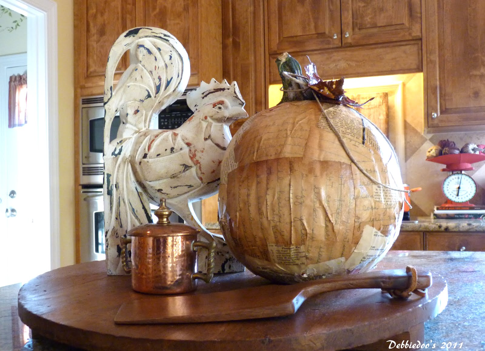 rooster lamp french country home decor debbiedoos