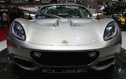 2011 Lotus Elise front