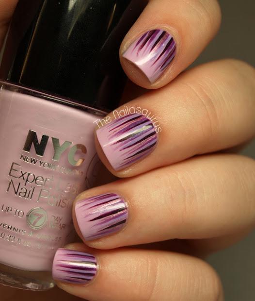 waterfall nail art tutorial
