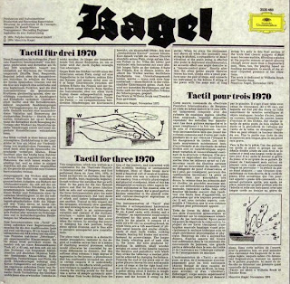 Mauricio Kagel, Tactil / Unter Strom