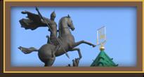 Рассветная нижегородская фантазия - площадь минина заливает море!
