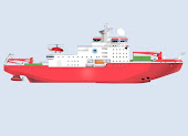 Aker Arctic to Design Chinese Polar Research Icebreaker