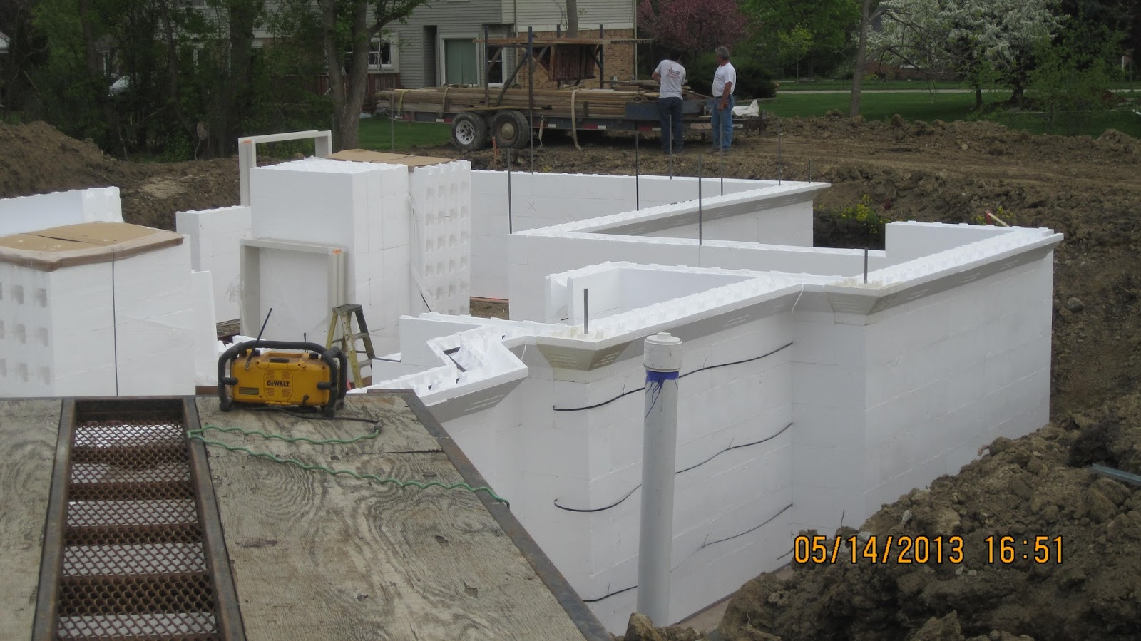how to build with icf blocks