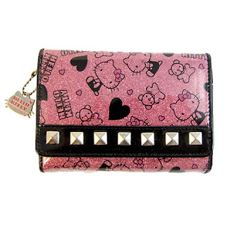 Hello Kitty studded purse wallet