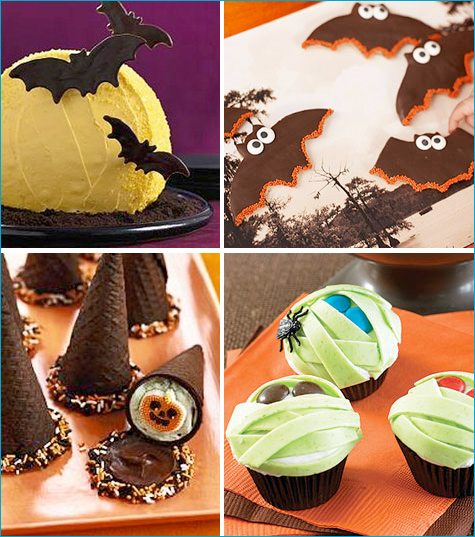 Halloween party treat ideas Halloween Goodies Recipes